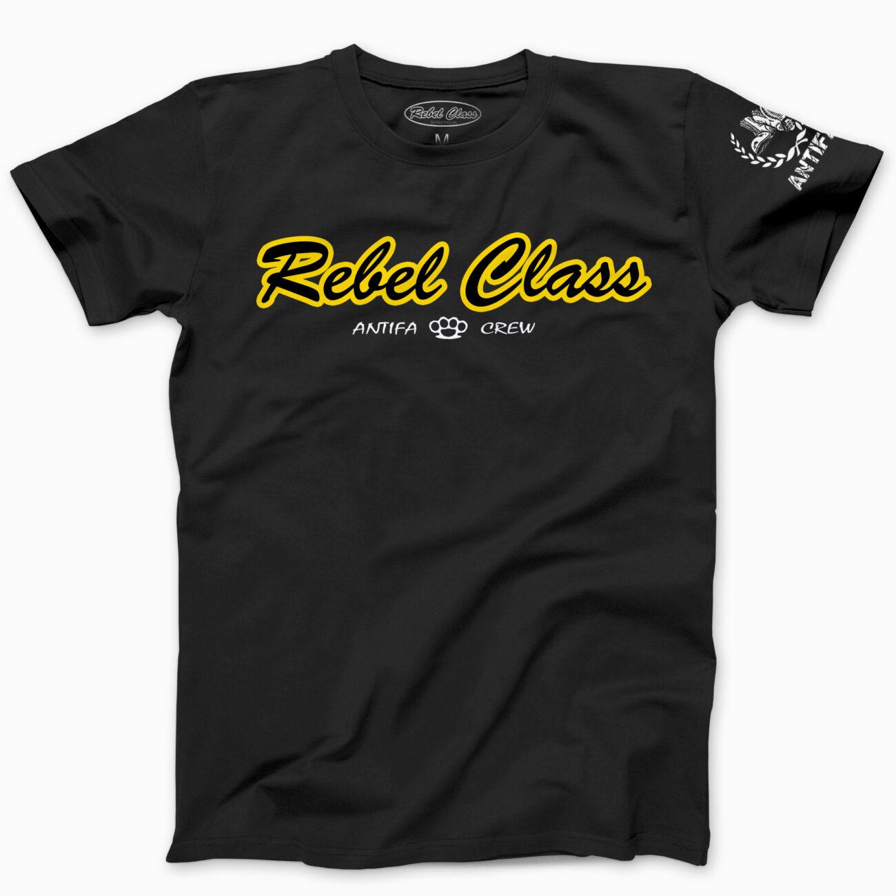 REBEL CLASS – Camiseta unisex ANTIFA CREW (varios colores) - 12,90€