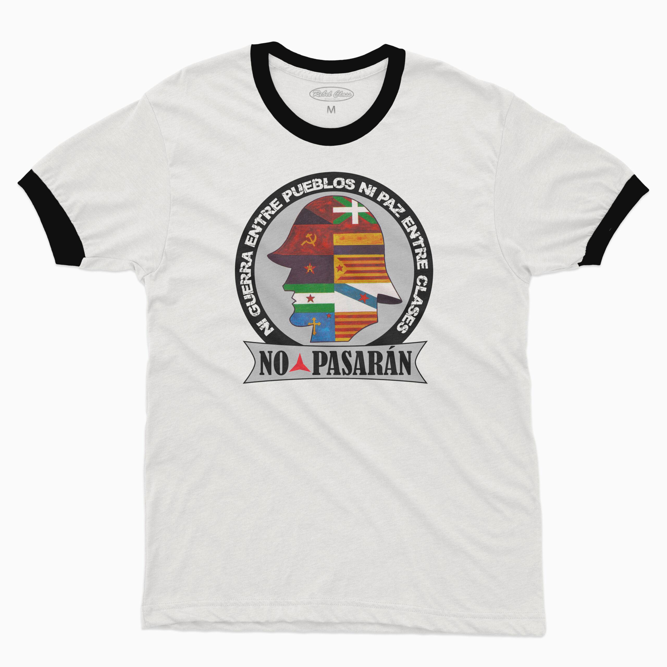 Camiseta Unisex BRIGADAS INTERNACIONALES – Ribetes - 15,90€